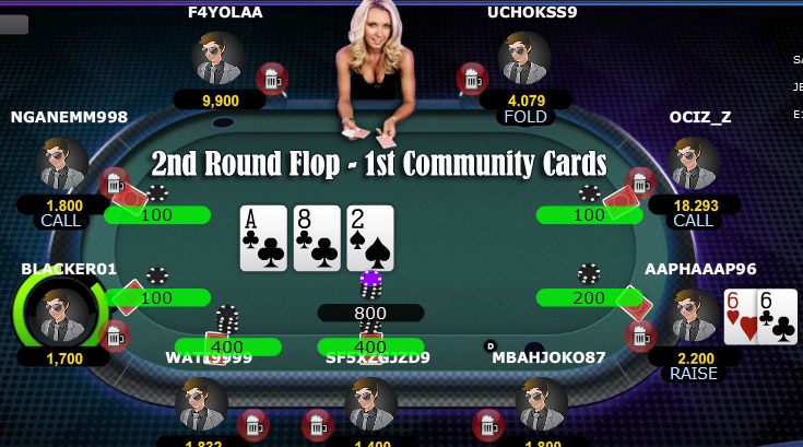 2nd round community card - tips pasti menang main judi poker online - qqpokeronline.cc