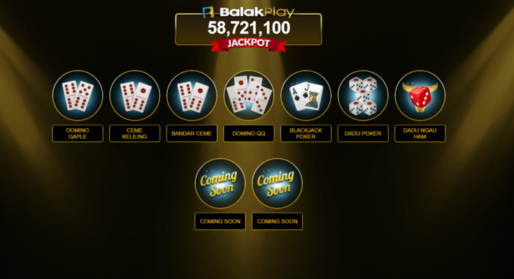 BALAKPLAY - DOMIINO GAPLE 99 ONLINE POKER BLACKJACK 21